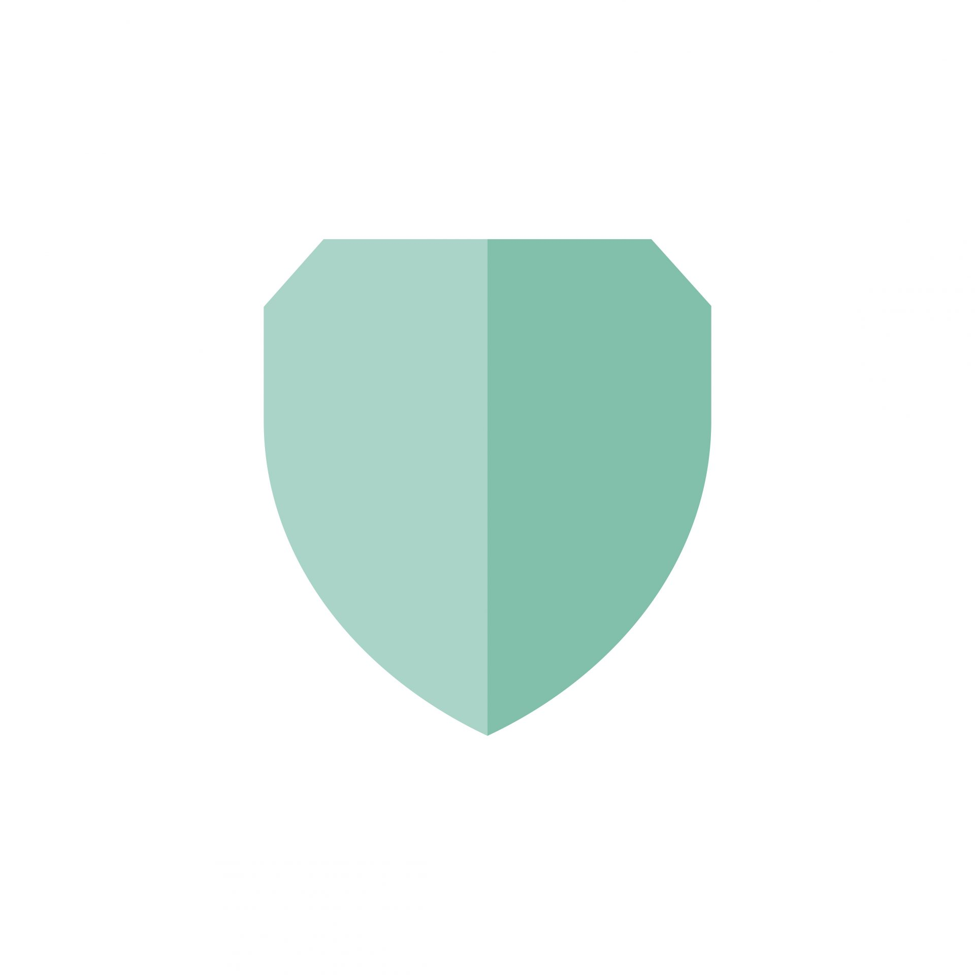 Illustration of protection shield